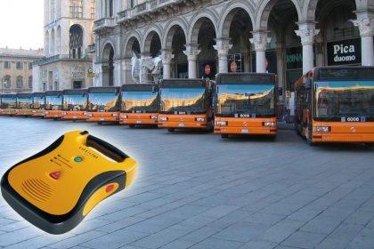 defibrillatore autobus filobus tram