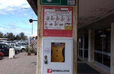 defibrillatore litorali stabilimenti balneari