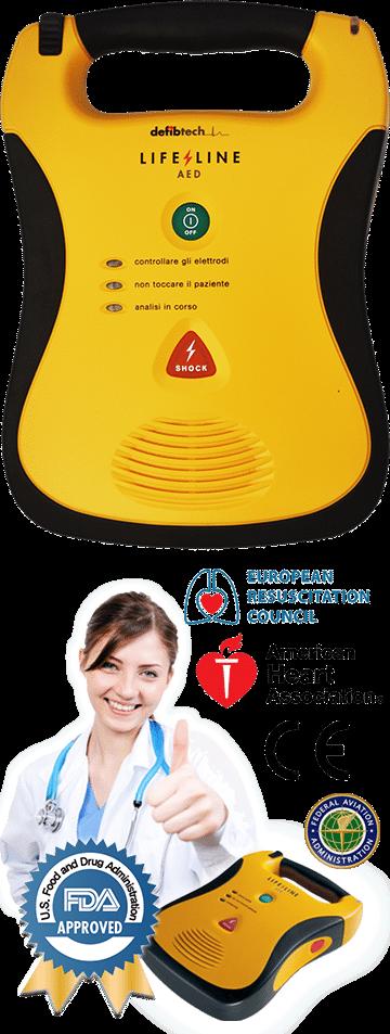 defibrillatore semiautomatico caratteristiche