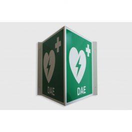 Cartello defibrillatore