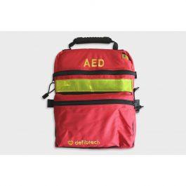 borsa rossa defibrillatore