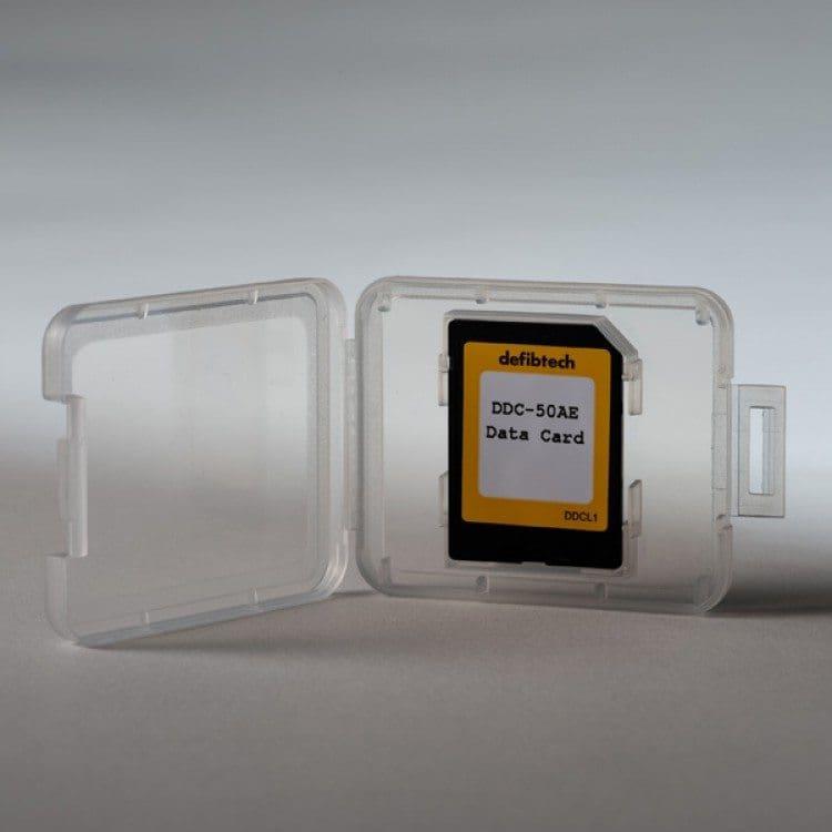 sd data card defibrillatore