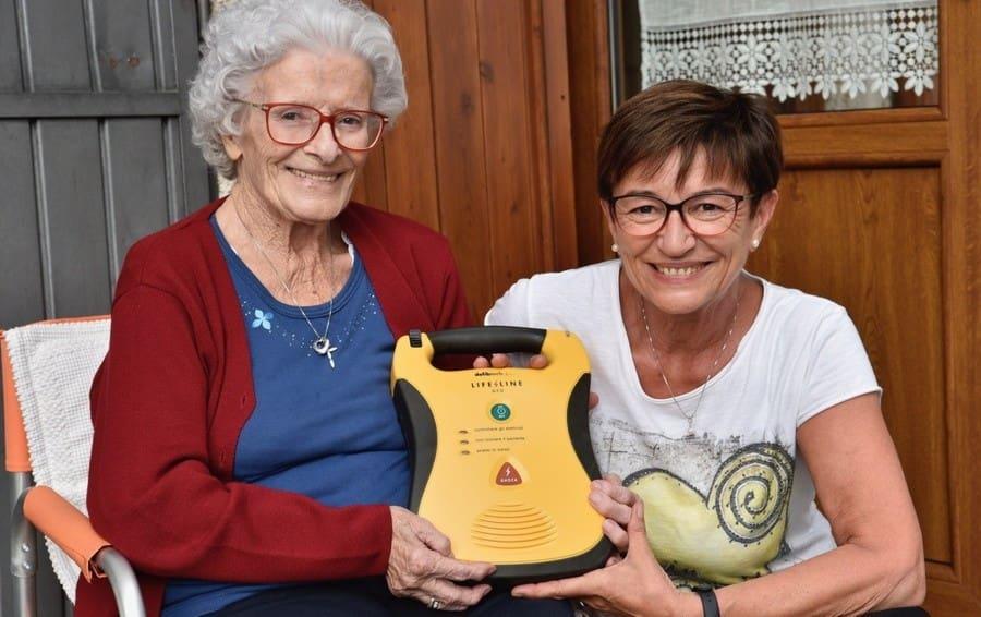 Con un defibrillatore ho fatto ripartire il cuore di mia mamma